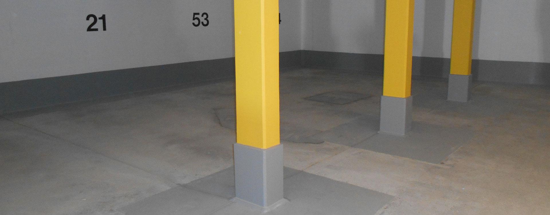 Tiefgaragen - Instandsetzung
